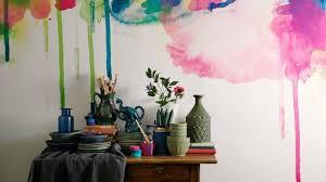 kreative wandgestaltung mit farbe 77 farbenfrohe wandmuster für die kreative wandgestaltung