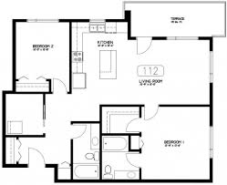 apartments floor plan of 2 bedroom house unique bedroom house