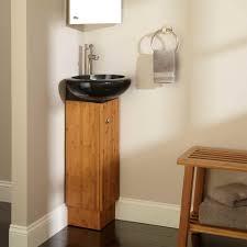 Corner Bathroom Sink Vanity Bathroom Futuristic Corner Bathroom Vanity With Black Sink