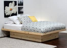 Modern Platform Bed Frame Bed Mesmerize Platform Bed With Headboard White Formidable