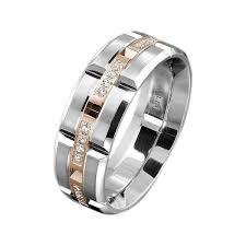 jewelers s wedding bands carlex white gold rectangular s wedding band