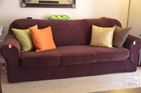 Sofa Vs Loveseat Magnificent Sure Fit Sofa Slipcovers With Form Fit Vs Relaxed Sure