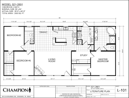 champion manufactured homes floor plans ridgecrest 2801 don u0027s mobile homes