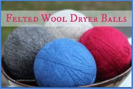 how to make wool dryer balls save money and static