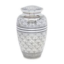cremation urns for adults urnsdirect2u silver fleur de lis cremation urn walmart