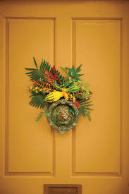 main door flower designs fall wreath ideas southern living