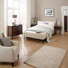 John Lewis Bedroom Furniture by Buy John Lewis Jennifer Upholstered Bedstead Beige Double Online