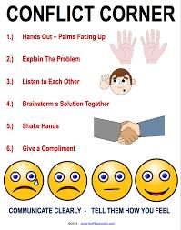 Conflict Resolution Worksheets For Kids Conflict Corner