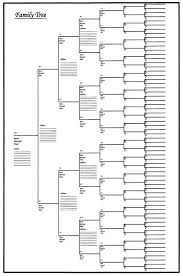 blank family tree a blank large family tree template is another