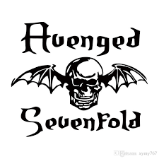 2017 sale avenged sevenfold death bat car styling decal
