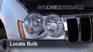 jeep grand change headlight change 2005 2010 jeep grand 2005 jeep grand