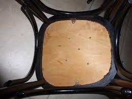 refaire l assise d une chaise bulles de cerises retaper une chaise en bois et assise