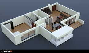 isometric floor plan elevations for the kreations builders