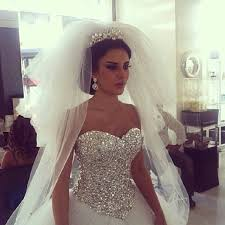 bling wedding dresses big bling wedding dress pinteres