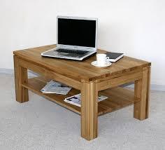 Wohnzimmer Tisch Wohnzimmertisch 105x65 Couchtisch Wildeiche Geölt