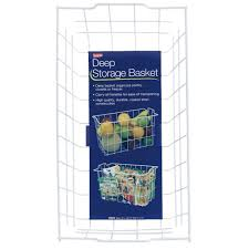 deep silo builder grayline deep storage basket 40604 do it best