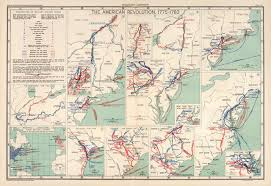 Colonial America 1776 Map by Map Of New York 1776 Long Island Brooklyn New Jersey Staten