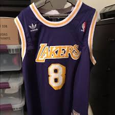 adidas los angeles lakers kobe bryant throwback jersey l from