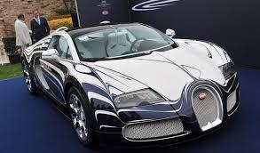 bugatti gold and bugatti veyron in white gold