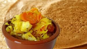 comment cuisiner du chou blanc 2 en 1 chou blanc à l éthiopienne et sa galette d injera