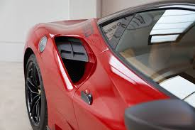 ferrari side capristo ferrari 488 gtb carbon side air intake panels