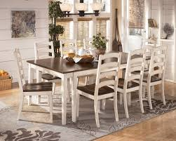 Marlo Furniture Liquidation Center by Signature Design By Ashley Whitesburg 9 Piece Two Tone Cottage