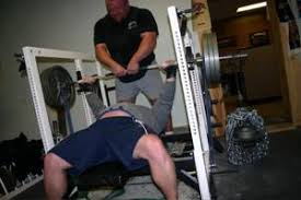 Olympic Record Bench Press Weight Training With Bench Press Chains