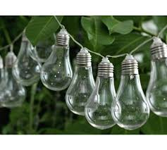 solar powered outdoor light bulbs buy home solar powered bulb string lights set of 20 at argos co uk