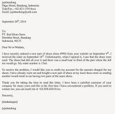 Email Complaint Letter Format by Complaint Letter To A Shoe Company U2013 Letter Simple Example