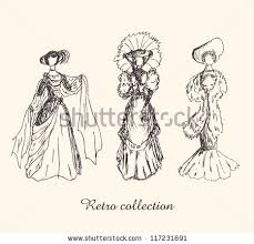 victorian lady silhouette stock images royalty free images
