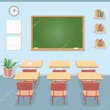 tableau pour bureau salle de classe avec le tableau noir et un bureau classe pour l
