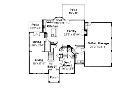 Colonial House Floor Plans by Colonial House Plans Willmar 30 048 Associated Designs