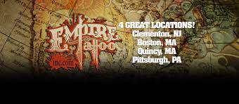 empire tattoo inc the east coast u0027s premier tattoo studios