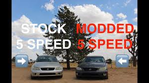 modded lexus is300 stock lexus is300 manual vs modded lexus is300 manual youtube