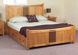 Bed Frames Wooden King Size Wooden Bed Frame With Storage Wooden Global