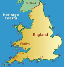 where is wales on the map coasts in and wales