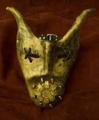 leather mardi gras masks metal bunny steunk mask mardi gras