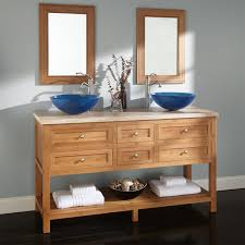 Bathroom Vessel Sink Vanity by Bamboo Vanities Bathroom Vanities Signature Hardware