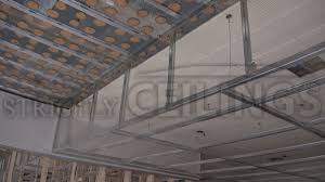 How To Sheetrock A Ceiling by Building Vertical Drywall Ceiling Drops Suspended Ceiling