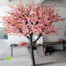Fake Tree by Gnw Bls016 Life Size Cherry Blossom Artificial Flower Trees For