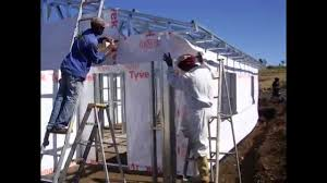light steel frame building south africa kzn project part 1 youtube