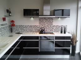 Kitchen Cabinets Black And White by Kitchen Ideas Black Kitchen Cabinets With White Doors Black