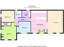beckfoot silloth wigton cumbria hopes estate agents floor plan