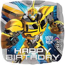 transformer birthday birthday cards