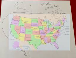 Colorado Us Map by Senator Al Franken Drew A Free Hand Map Of The United States For
