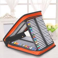 pencil cases 120 holder portable large capacity school pencil drawing pen