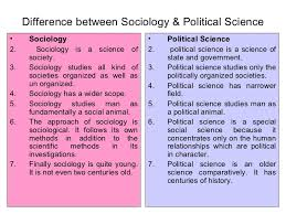 What Is The Difference Between Modern And Contemporary Sociology And Its Difference With Other Social Sciences