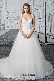 fancy frox wedding dresses justin alexander