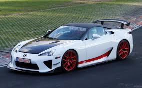 lexus supercar hybrid spied modified lexus lfa shows off carbon fiber roof at the