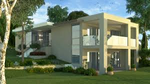 3d bungalow design villas rendering